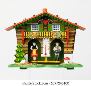 traditional Weather prediction house from Black forest, Germany