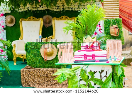 Traditional Wedding Decoration Edo Tribe Nigeria Stock Photo Edit