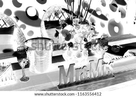Traditional Wedding Decorations Stock Photo Edit Now 1163556412