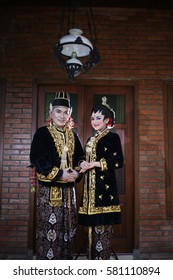 traditional wedding dress from java