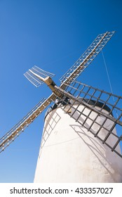 Traditional windmills, Toledo, Spain