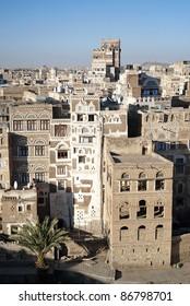 traditional yemeni architecture in sanaa yemen