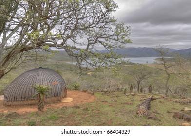 Traditional Zulu Hut in South Africa