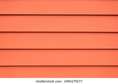traditional,colorful, wooden house side panels in Saint John's, Newfoundland and Labrador