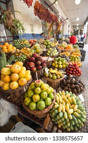 Traditional&tropical Madeira fruits