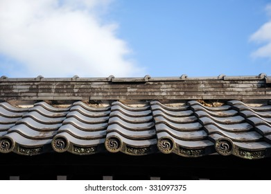 Traditon japan Roof tiles style