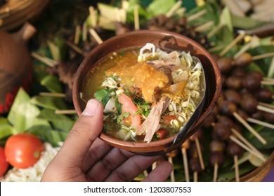 A Tradutional food from Gunungkidul Yogyakarta, Soto Ayam khas