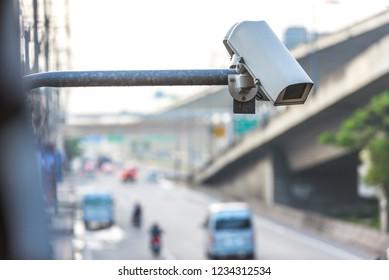 The traffic camera