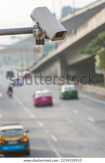 Traffic Camera Stock Photo (Edit Now) 1234310953