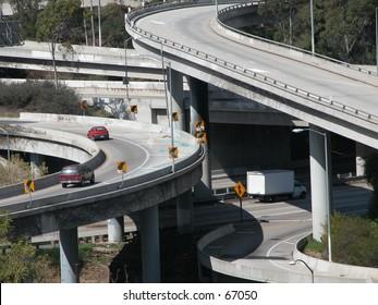 Traffic: crossing high ways