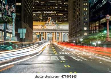 traffic at grand central station