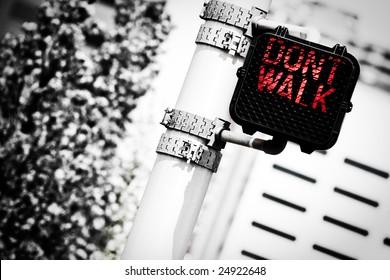 Traffic Light (Don't Walk)