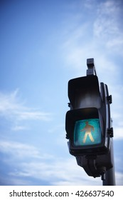Traffic lights in Japan