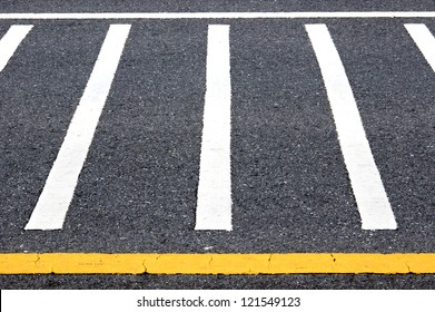 traffic lines on the road