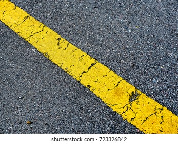Traffic Lines on the street.