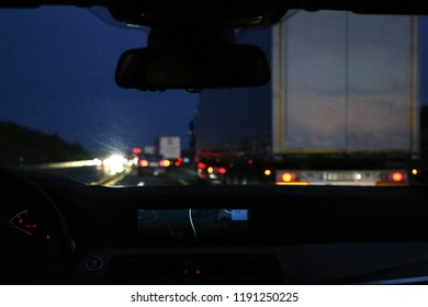 Traffic on the night route