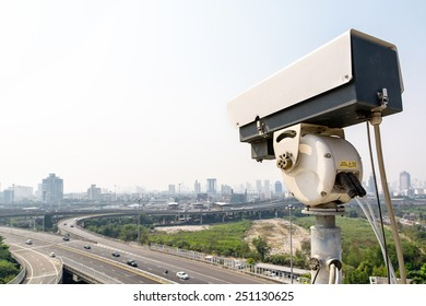 The traffic security CCTV camera