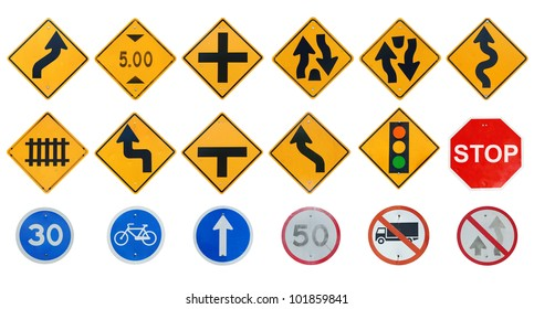 Traffic sign collections
