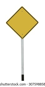 Traffic Sign isolated on white