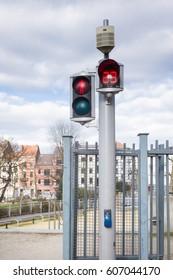 Traffic signal Brussels belgium