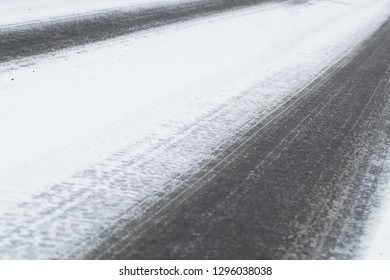 traffic in winter