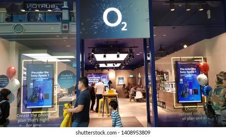 Trafford, Manchester, UK 05/27/2019 02 retail shop