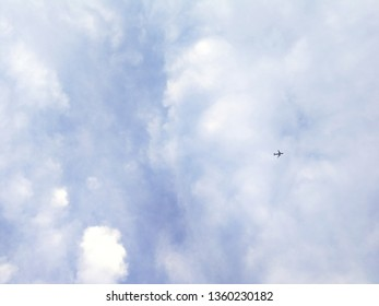 The plane that is heading to the traget.