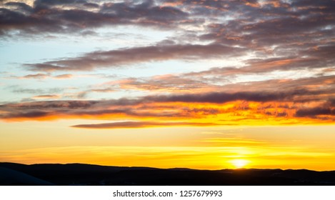 tragic sky,  sunrise, bright colors