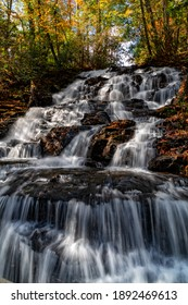 Trahlyta Falls at Vogel State Park In Blairsville Georgia