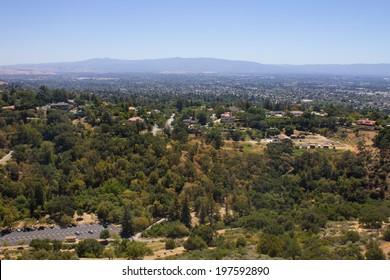 Trail at Alum Rock, San Jose, California, USA.