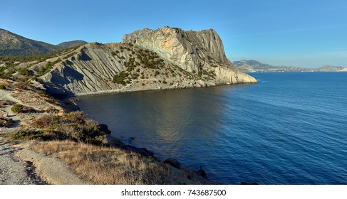 The trail Golitsyn,Novy Svet, Crimean Peninsula.