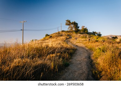 Trail at Grant Park, in Ventura, California.