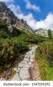 Trail in the High Tatras - Slovakia