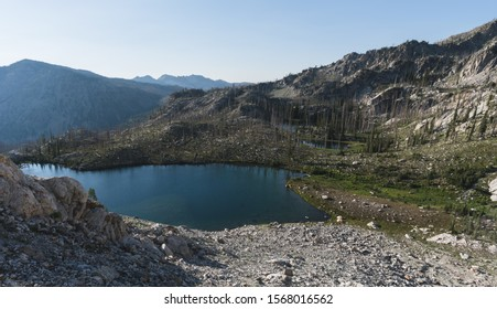 Trail Lakes in the Sawtooth Wilderness of Idaho