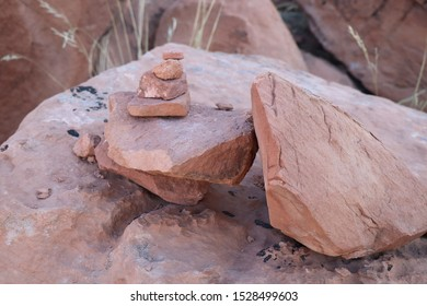 Trail Marker in Arches National Park