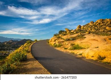 Trail at Mount Rubidoux Park, in Riverside, California.