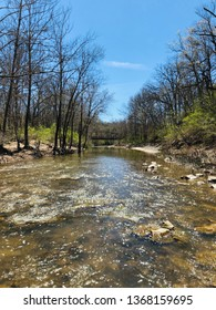 Trail, River, and Forest in Columbia Missouri