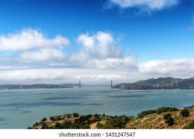 Trail scene to Mt. Livermore on Angel Island in San Francisco Bay