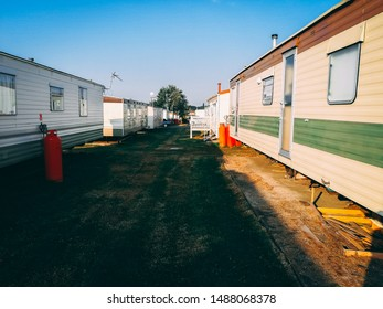 Trailer park located in England.