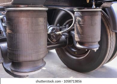 Trailer's air suspension system