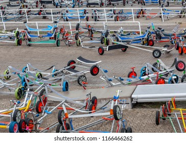 Trailers for sailboats