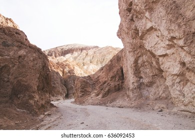 Trails in Death Valley National Park.