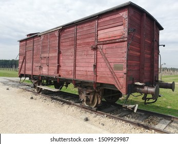 The train of Auschwitz Birkenau.