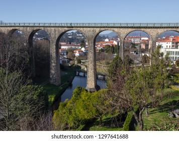 Train bridge from Vouzela, Viseu, Portugal.