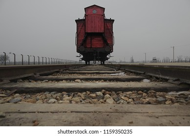 Train Carriage in Auschwitz