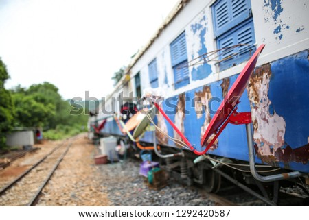 Train Carriage House Train Car Homes Stock Photo Edit Now