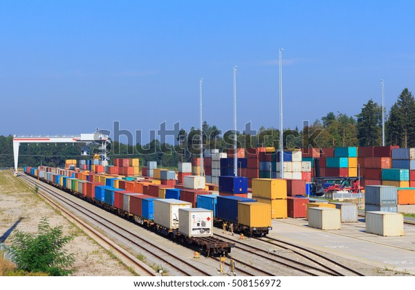 Train Container Terminal