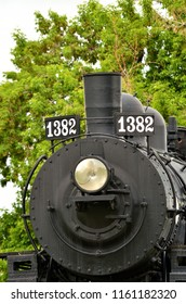 Train engine from the 1920s.