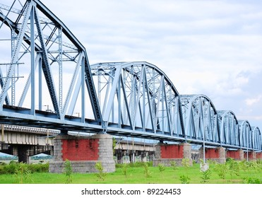 Train Iron Bridge