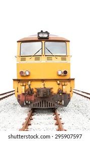 Train , isolated on white background